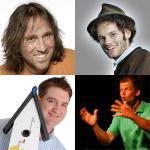 Roland Hefter, Marco Vogl, Wiggerl und Maxi Schafroth
